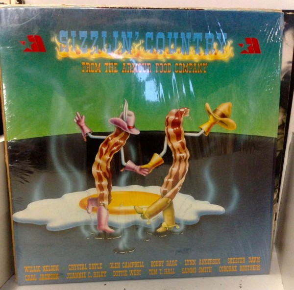 sizzlin' country LP