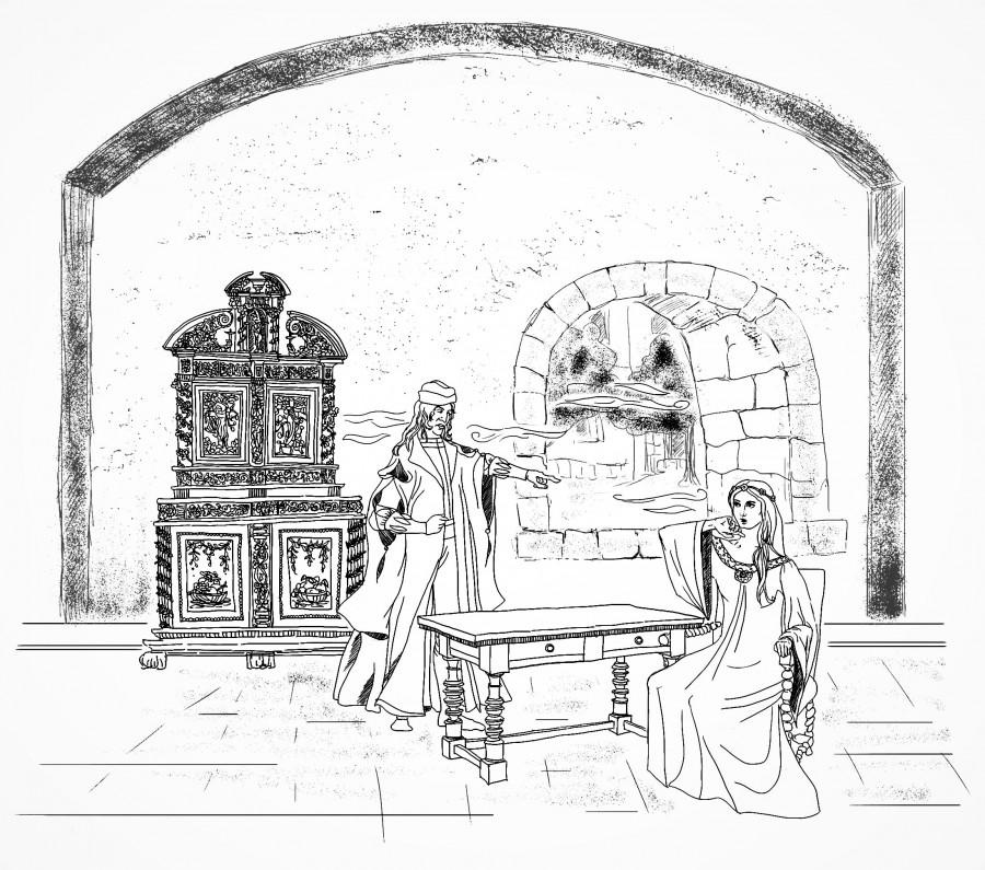 Дубль два, век четырнадцатый (иллюстрации)