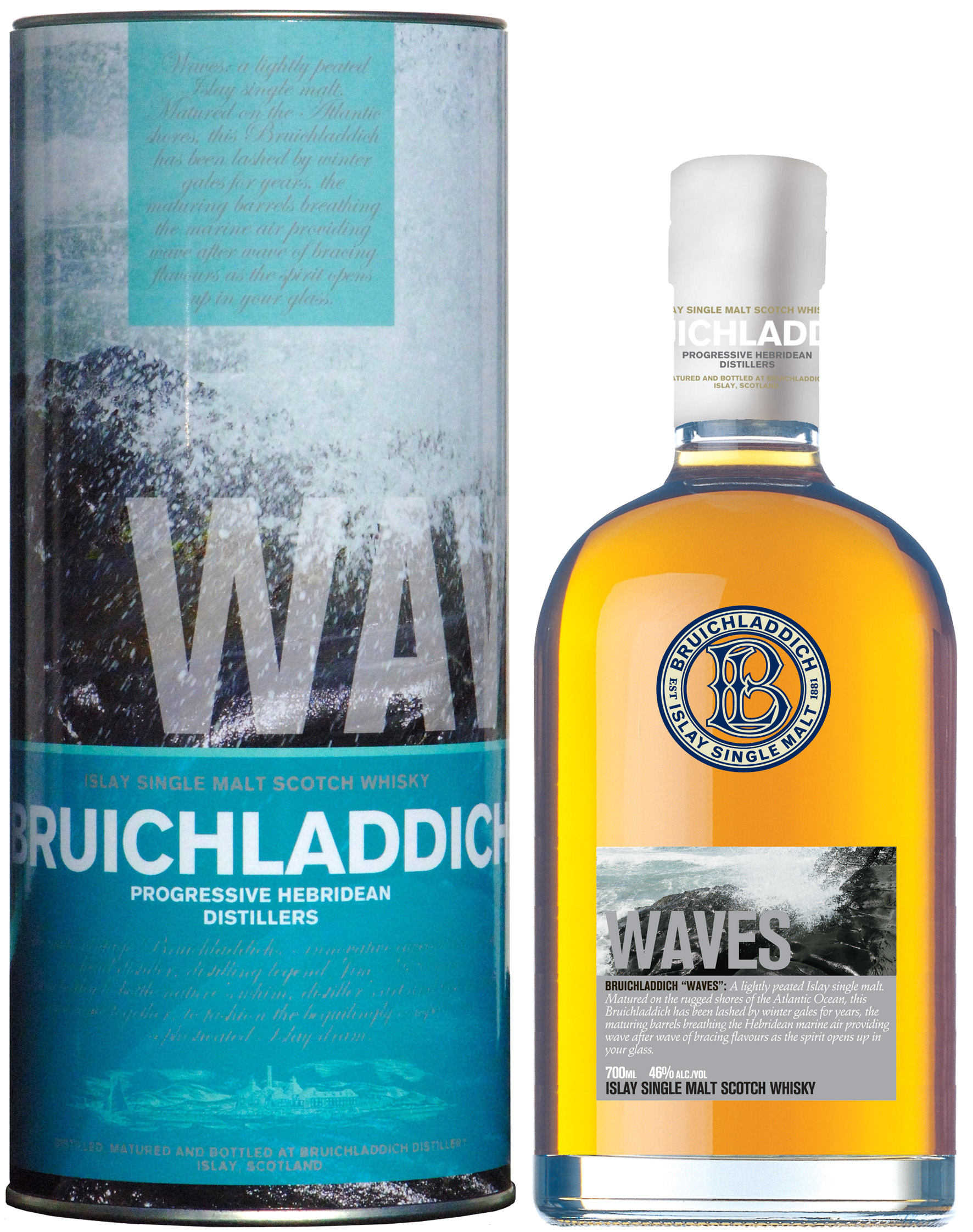 Bruichladdich Waves new