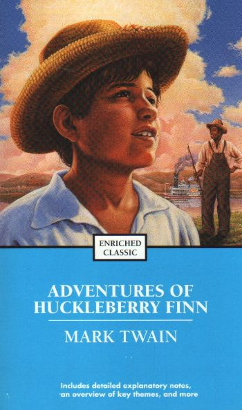 the tough decisions made in mark twains story adventures of huck finn