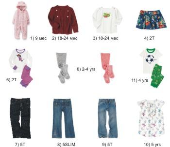 64954e8d76a2 Вещи для девочки (до 5 лет) и пижама для мальчика (4 года) - ne_podoshlo ?