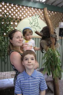 София, Марсель, Диана и коала