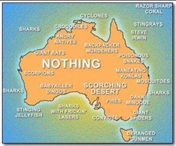 Australia's map