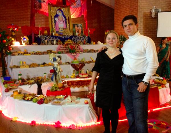 Diwali Rafis and Sofiya