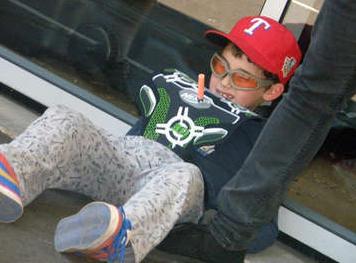 Nerf - one kid