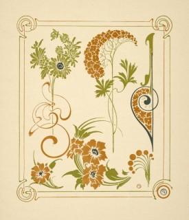 Combinaisons ornamentales par Verneuil, Auriol et Mucha ...