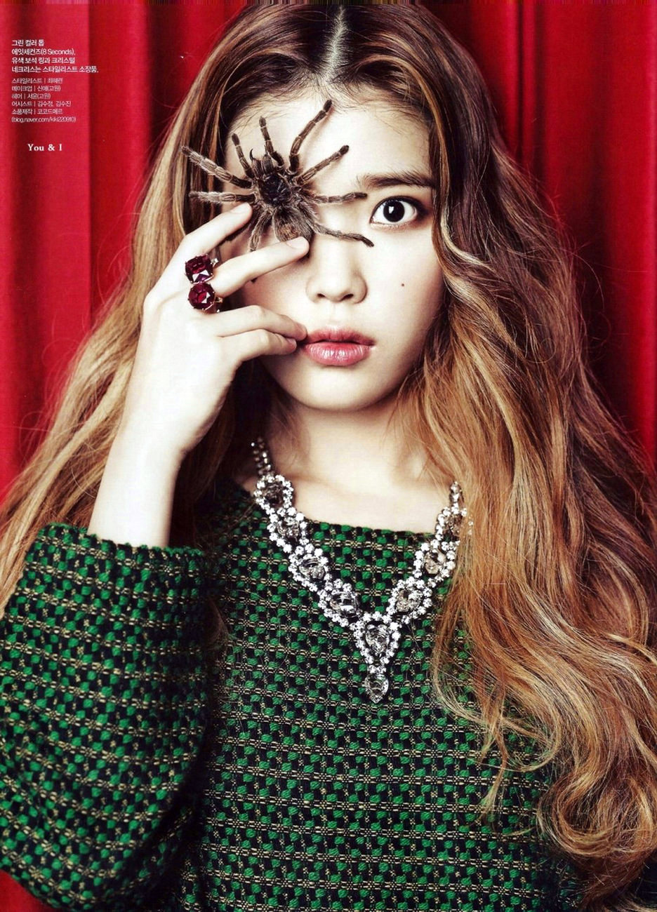 Bts In Ama >> IU for ceci Korea and Elle - OMONA THEY DIDN'T! Endless charms, endless possibilities