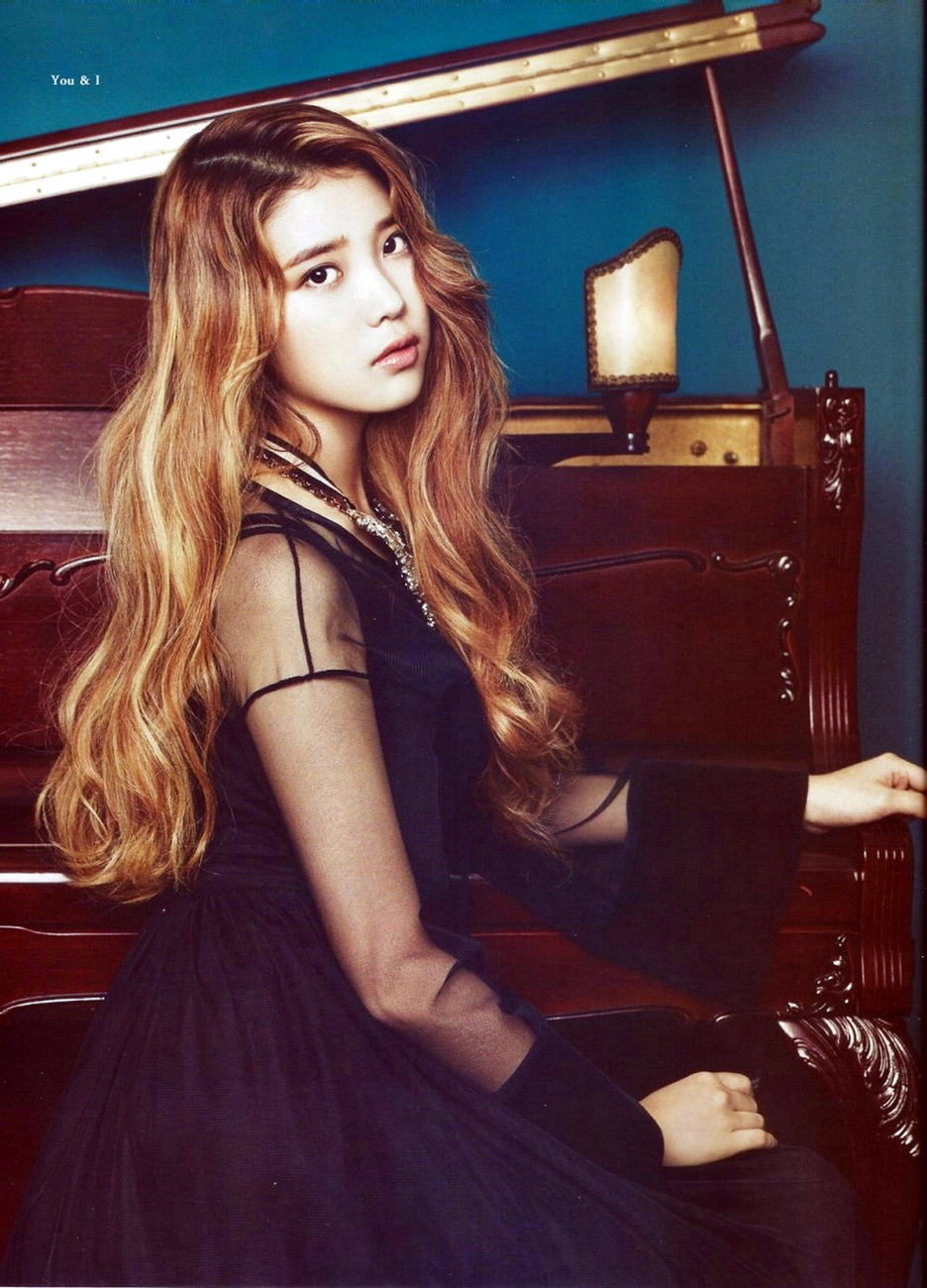 IU for ceci Korea and Elle - OMONA THEY DIDN'T! Endless ...