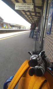 At Didcot Parkway station