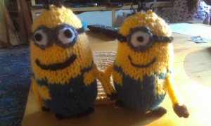 Minions 1 and 2