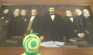 With Mr Lincoln again