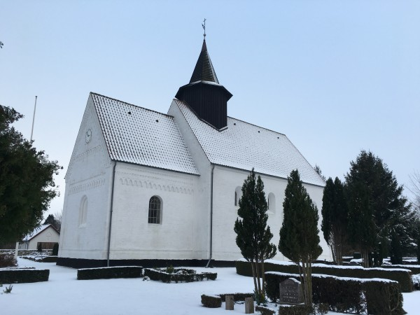 Øster Ulslev village church