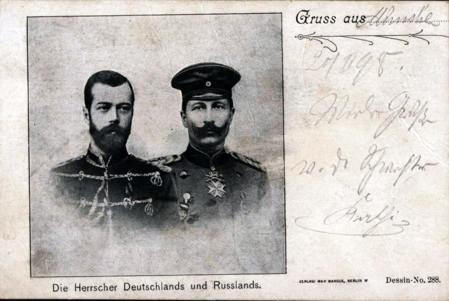 Картинки по запросу Император Николай Второй и Кайзер Вильгельм Второй