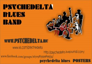 PsycheDELTA Blues Posters