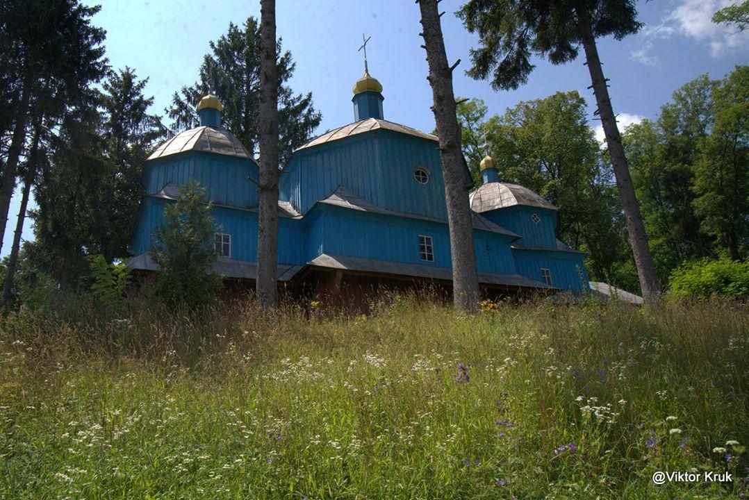 с. Ценів, церква Св. Архистратига Михаїла