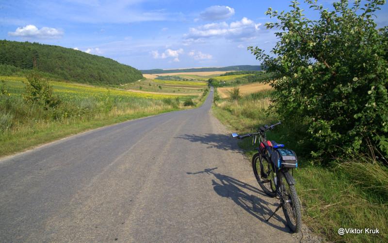 Дорога Бережани - Баранівка