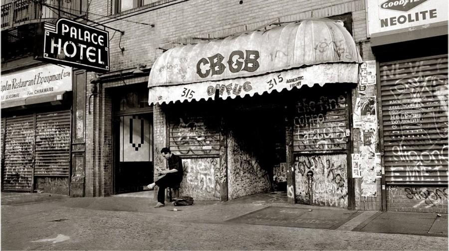 «CBGB». Главный клуб США.