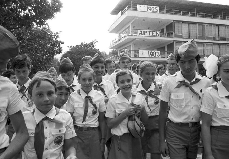 80-е. Детства моего чистые глазёнки.
