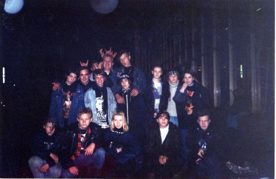 Летопись первых панков на руинах СССР.