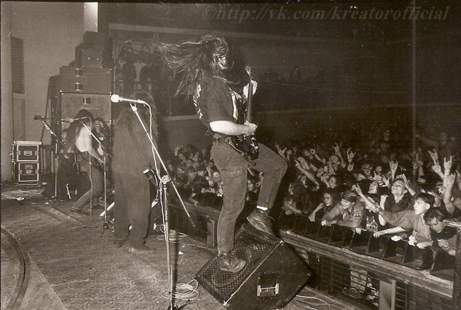 Концерты зарубежных рок звёзд в России 90-х.
