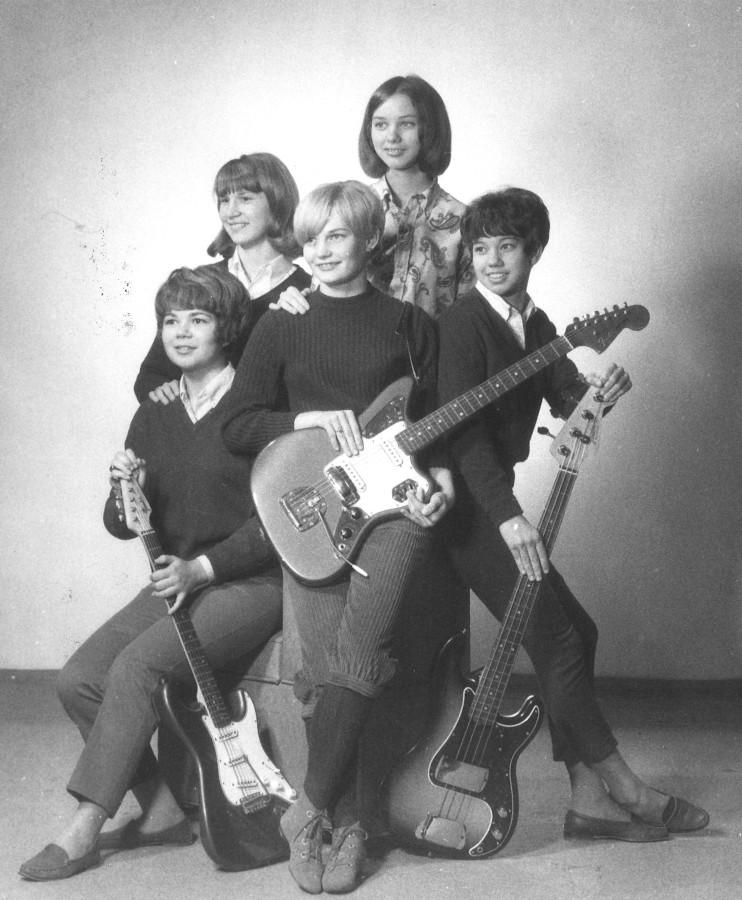 Женский гаражный рок или привет из 60-х.