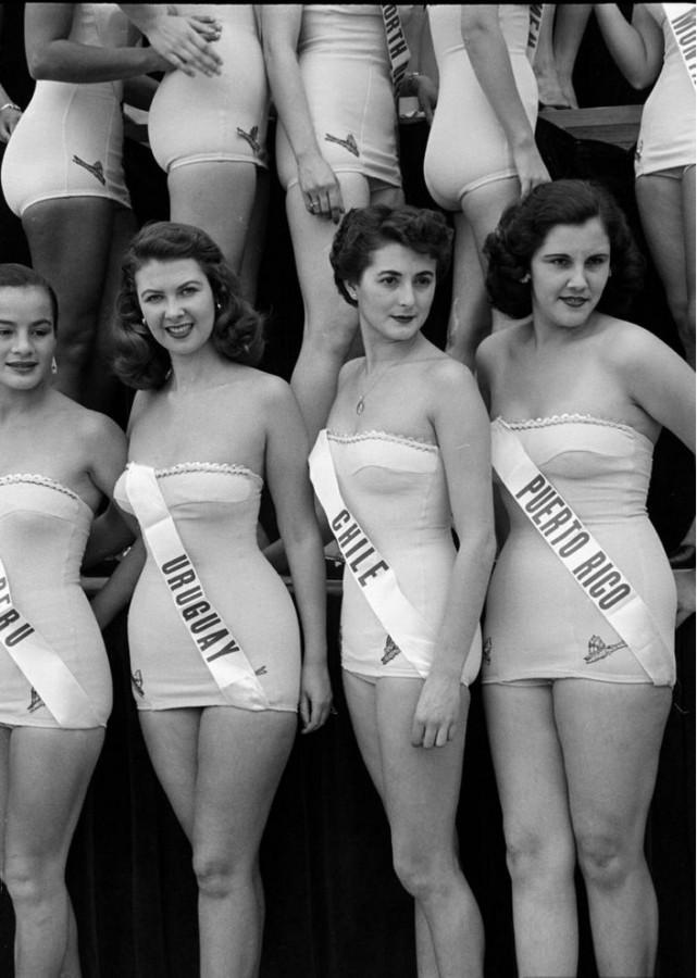 Мисс Вселенная. История конкурса с начала 20-го века. (много ретро фото)