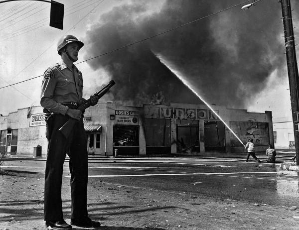 Краткая история массовых беспорядков в США.