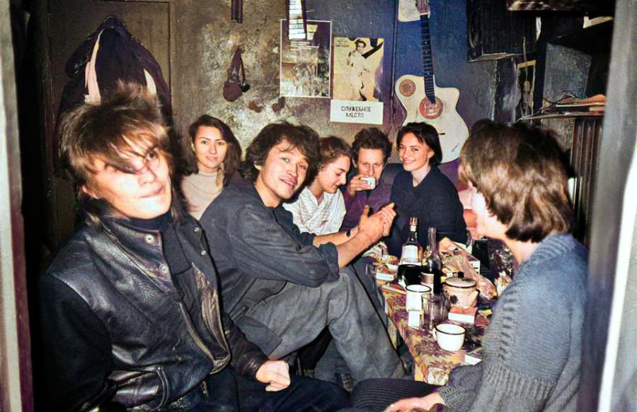 Редкие фотографии отечественных рок музыкантов. Версия №10