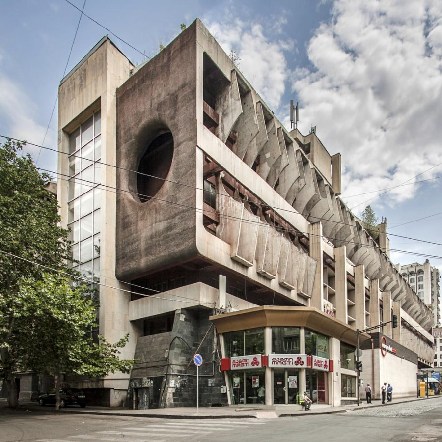 Советский брутализм в архитектуре как актуальное искусство.