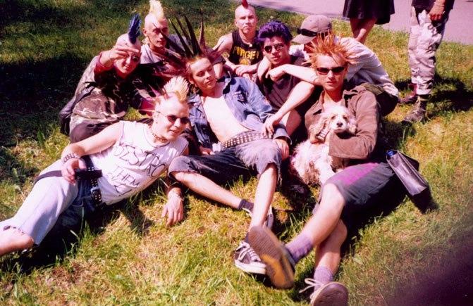 Punk's Not Dead.