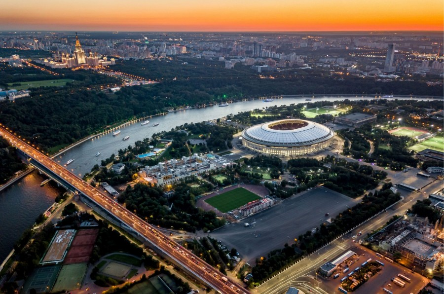 Посещаемость матчей на Чемпионате Мира по футболу