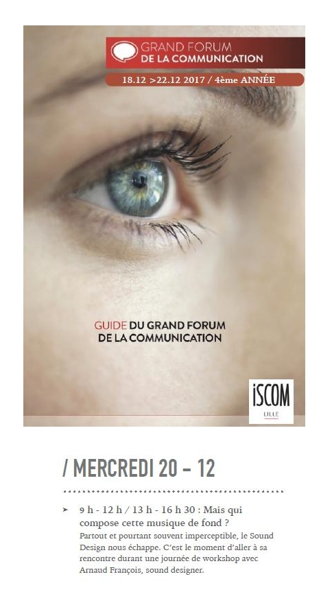 Workshop Dec 2017 Iscom