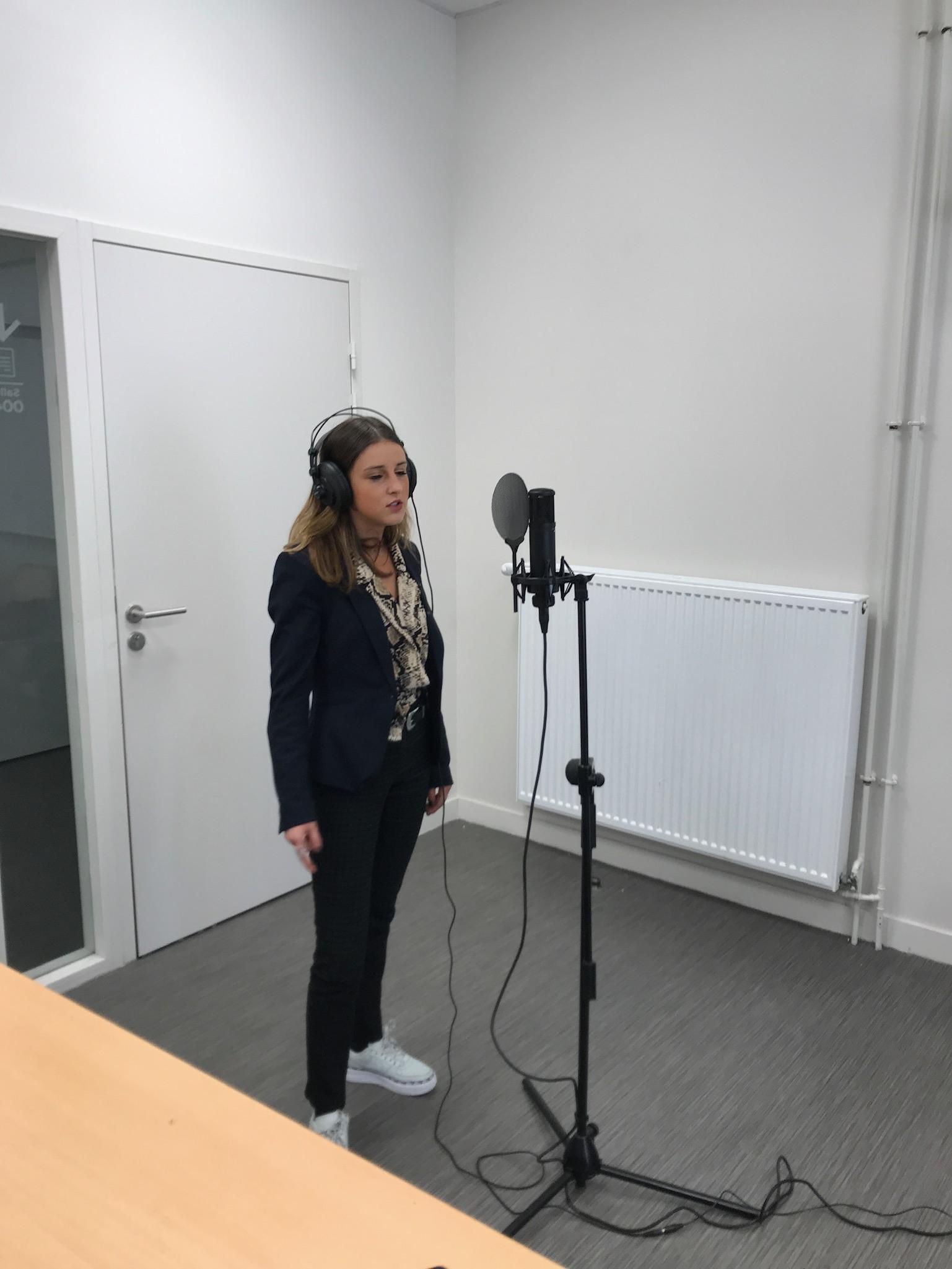 Enregistrement Voix Off
