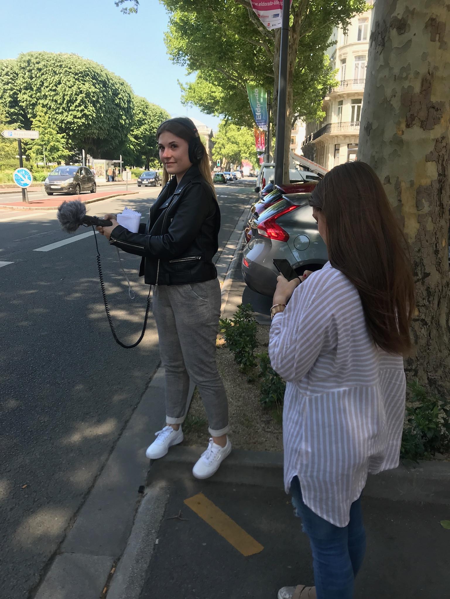 Enregistrement de sons réels