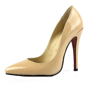 Christian-Louboutin-red-sole-shoes-Nude-Pigalle-Leather-Pumps