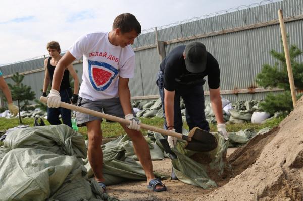 ХабаровскЧС: ликвидация последствий наводнения
