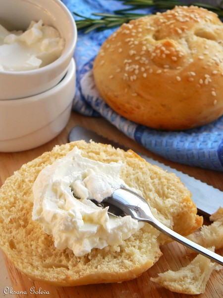 яичные булочки рецепт