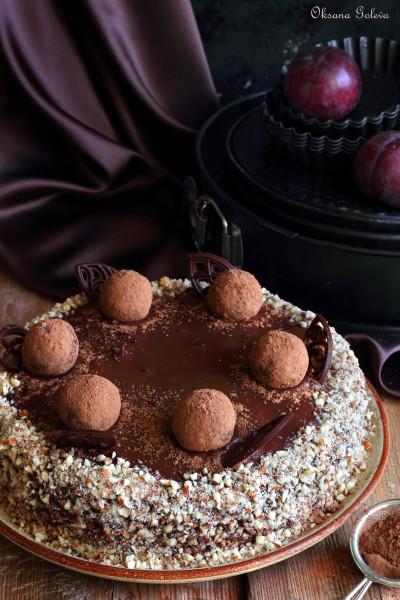 рецепты шоколадно-ореховых тортов с фото