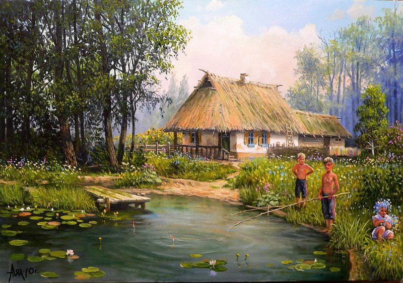 Лях Андрей Петрович На хуторе у деда