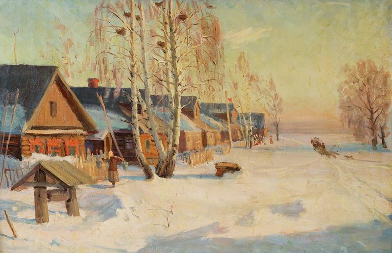 Шурпин Федор Саввич (1904-1972) Март