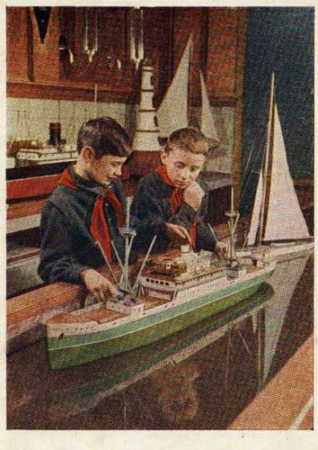 юные строители кораблей 1955