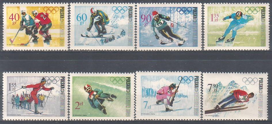 1968 ZOI v Grenoble 8m