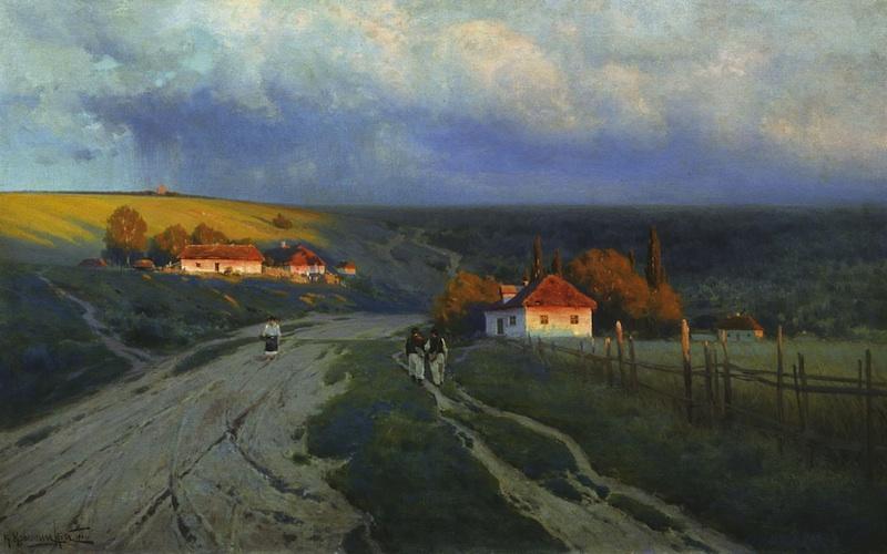 Вечер на Украине