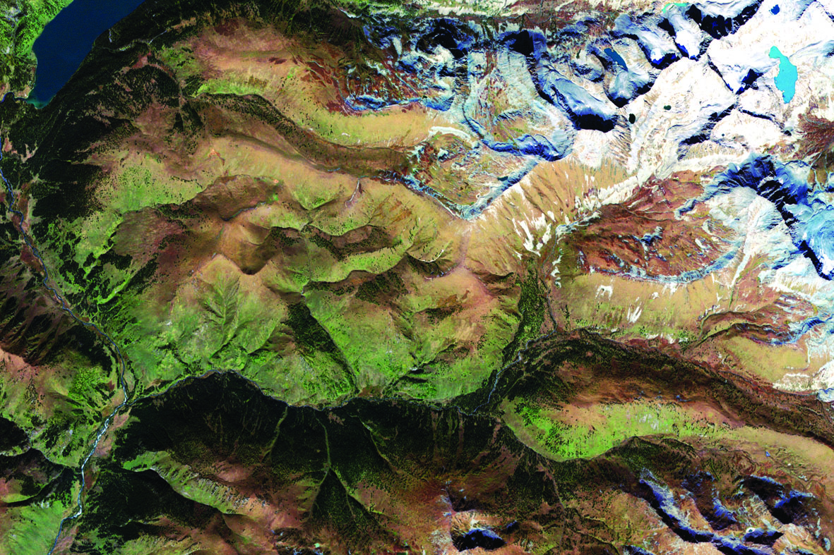 2_Февраль_Золотые Алтайские горы