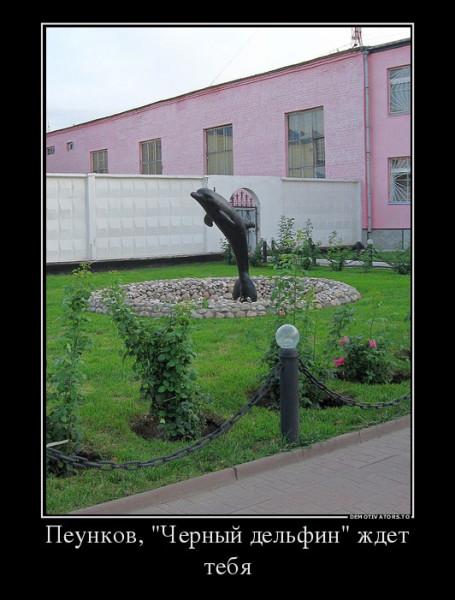 Черный дельфин, Алексей Пеунков, пожизненное, тюрьма