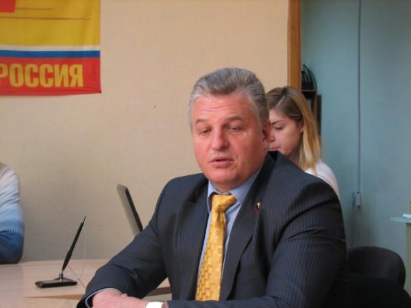 Виктор Семенов, Справедливая Россия