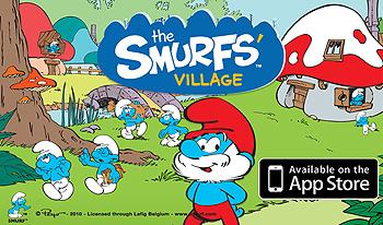 The Smurf Village game