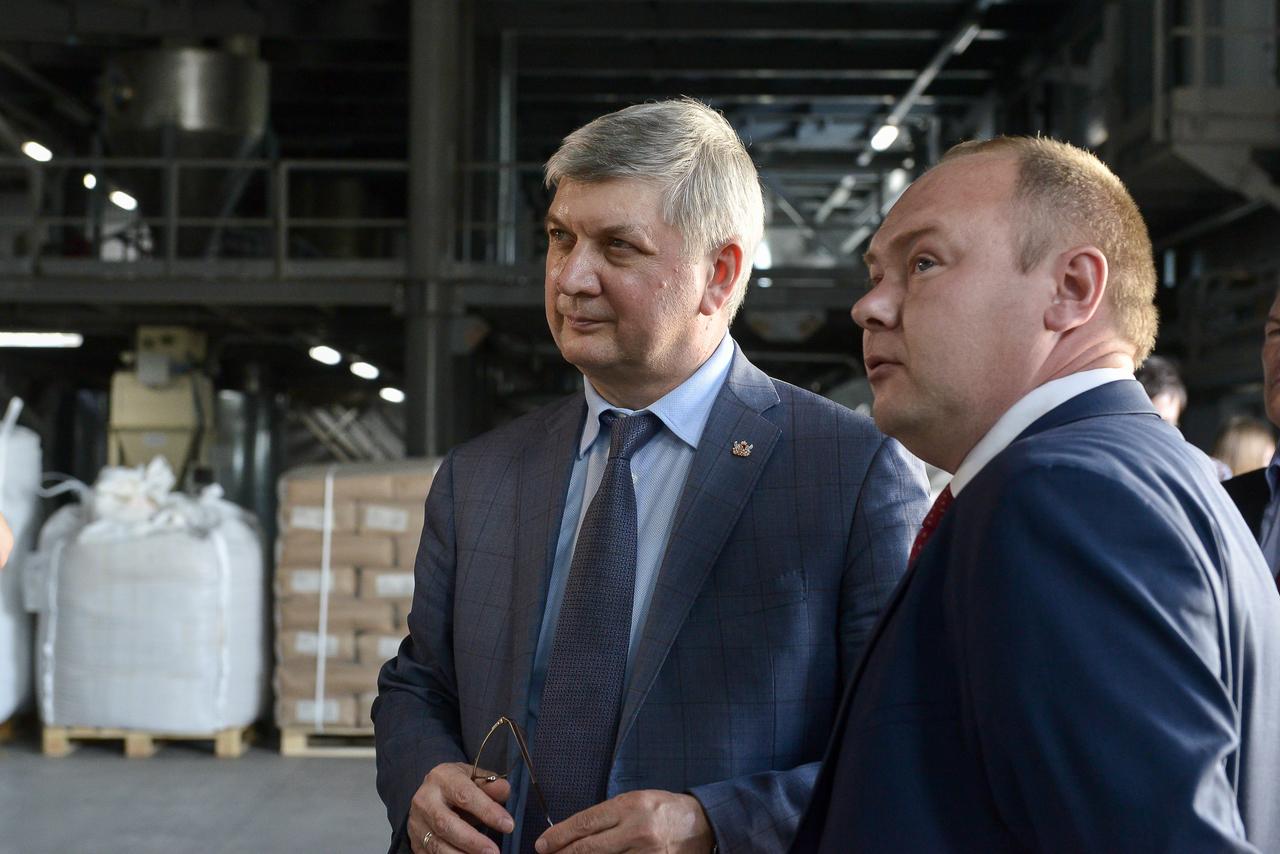 Крахмальный завод в Воронежской области
