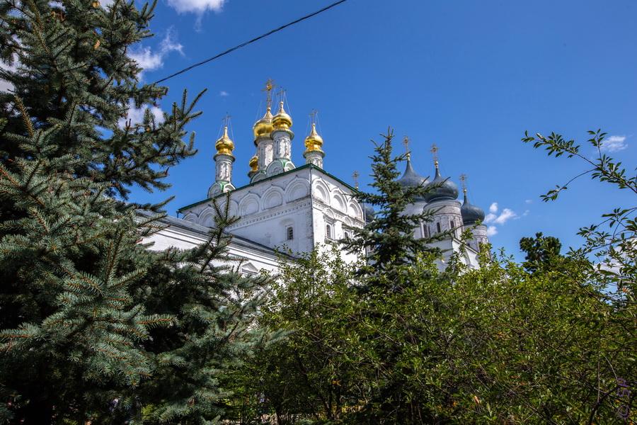 На Валдае до Макарьево и обратно с крестным ходом (Валдай 45Р, Нижний Новгород - Макарьево)