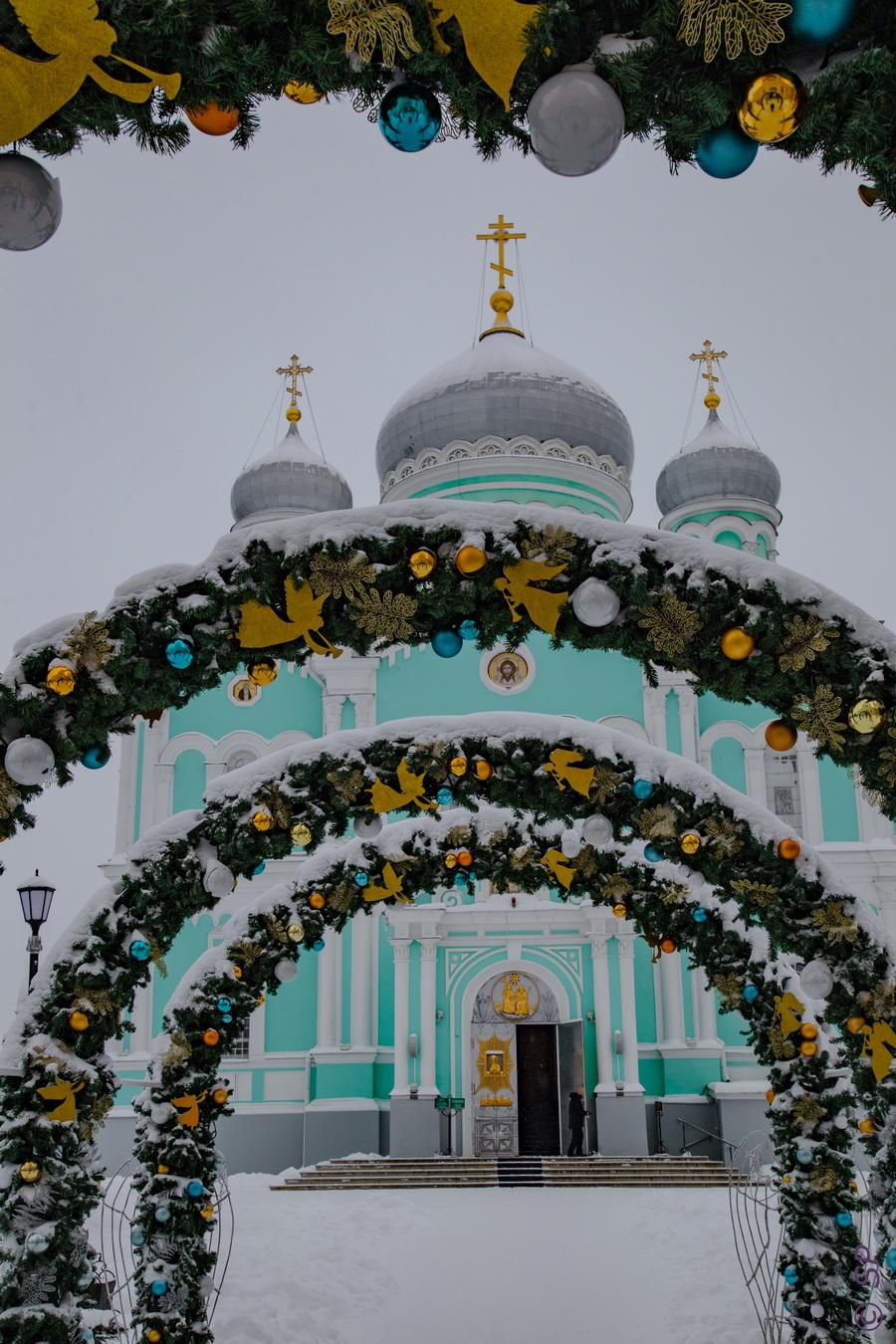 Рождественское Дивеево или село ковидовой эпохи. Визит 3 (Нижегородская область, январь 2021)